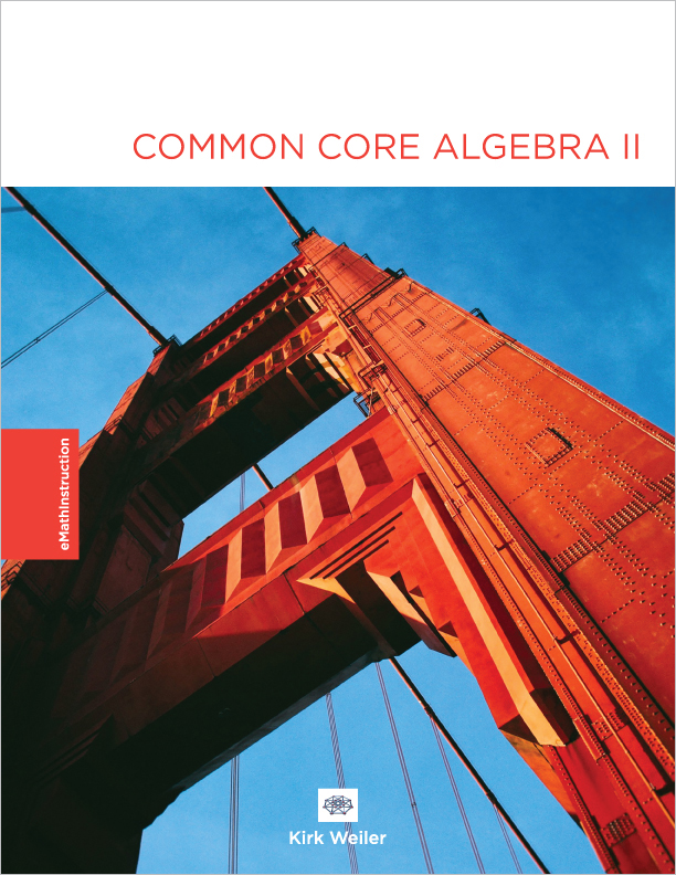 Common Core Algebra Ii Workbook Emathinstruction