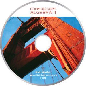 Commom Core Algebra II CD