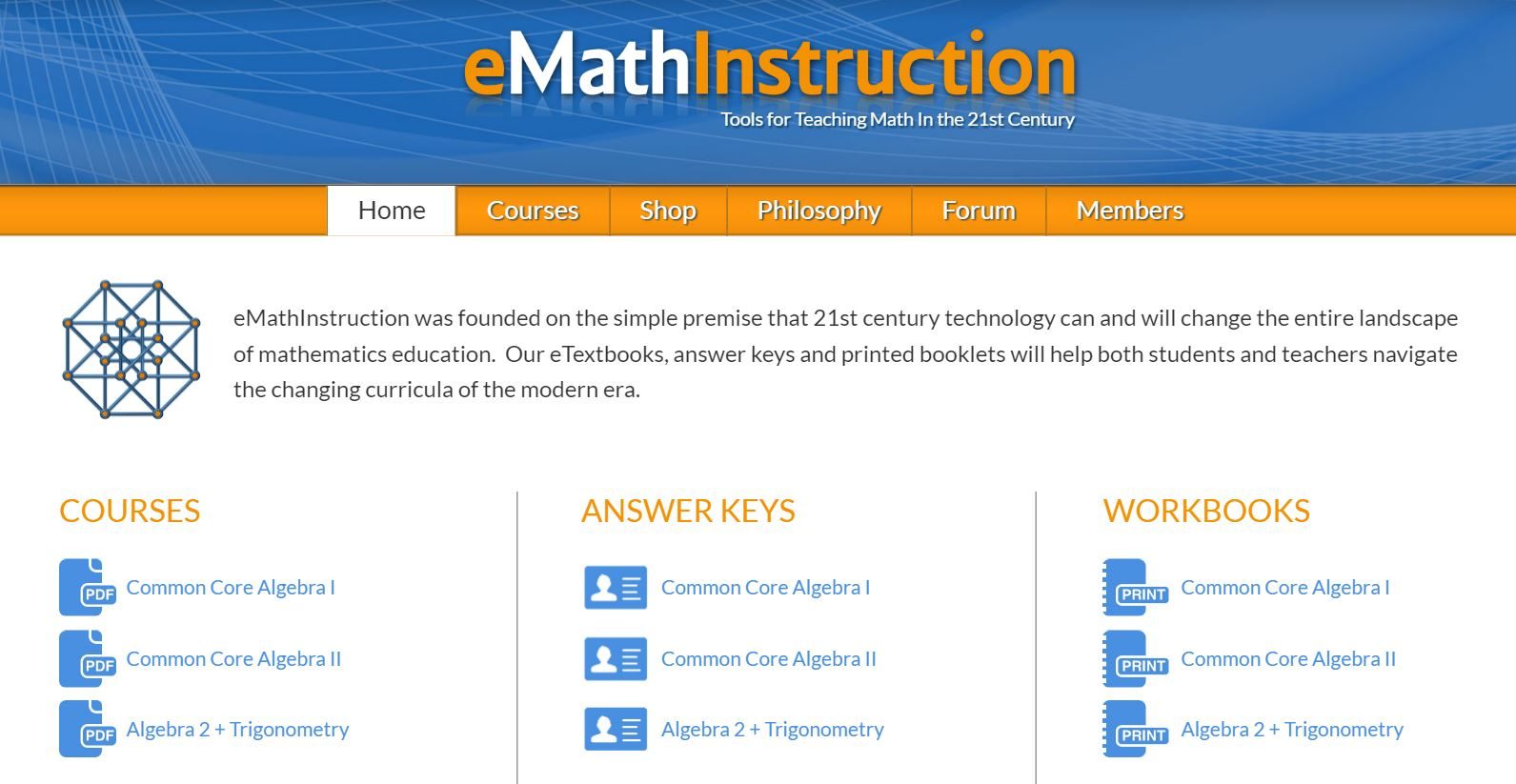 Kirks general rambling page 3 emathinstruction you can now access all of our courses coming soon common core geometry from an easy course link on our main page fandeluxe Image collections
