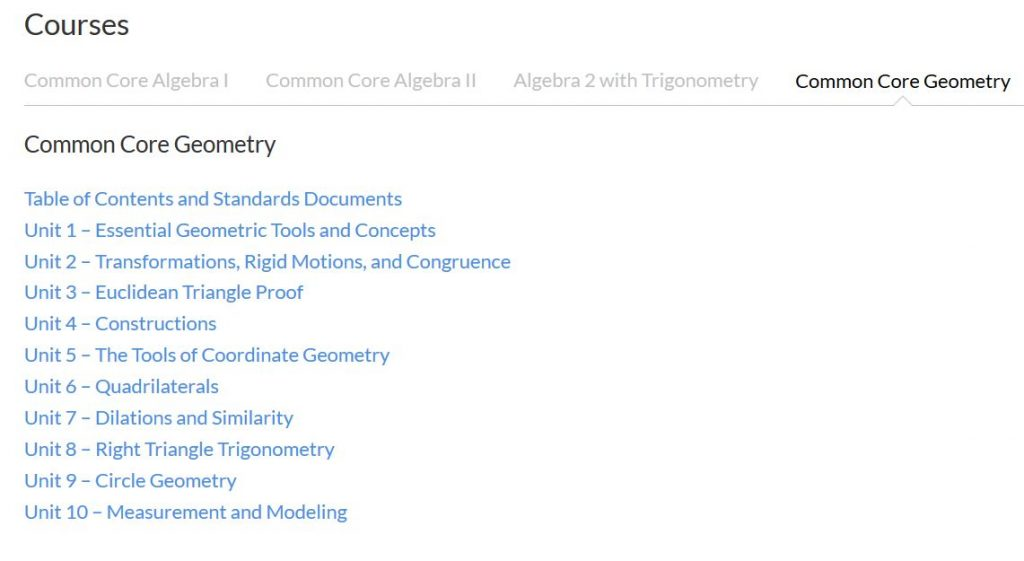 geometry-table-of-contents-screen-shot