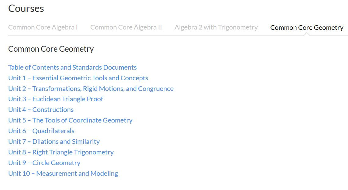 Common Core Geometry Beta Version Finished By Kirk